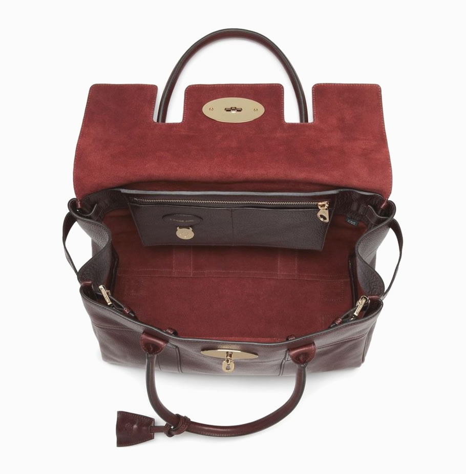 Mulberry Bayswater natural leather inside replica
